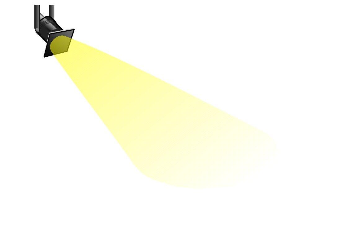Hollywood Spotlight Clip Art N5 free image.