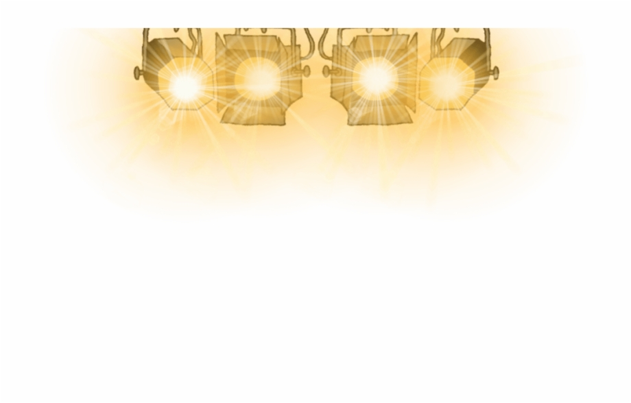 Stage Lights Clipart.