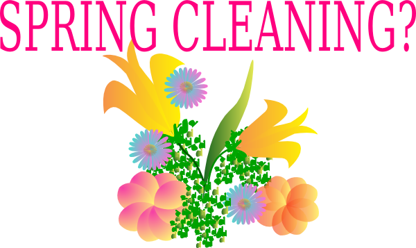 Spring Cleaning? PNG Clip arts for Web.