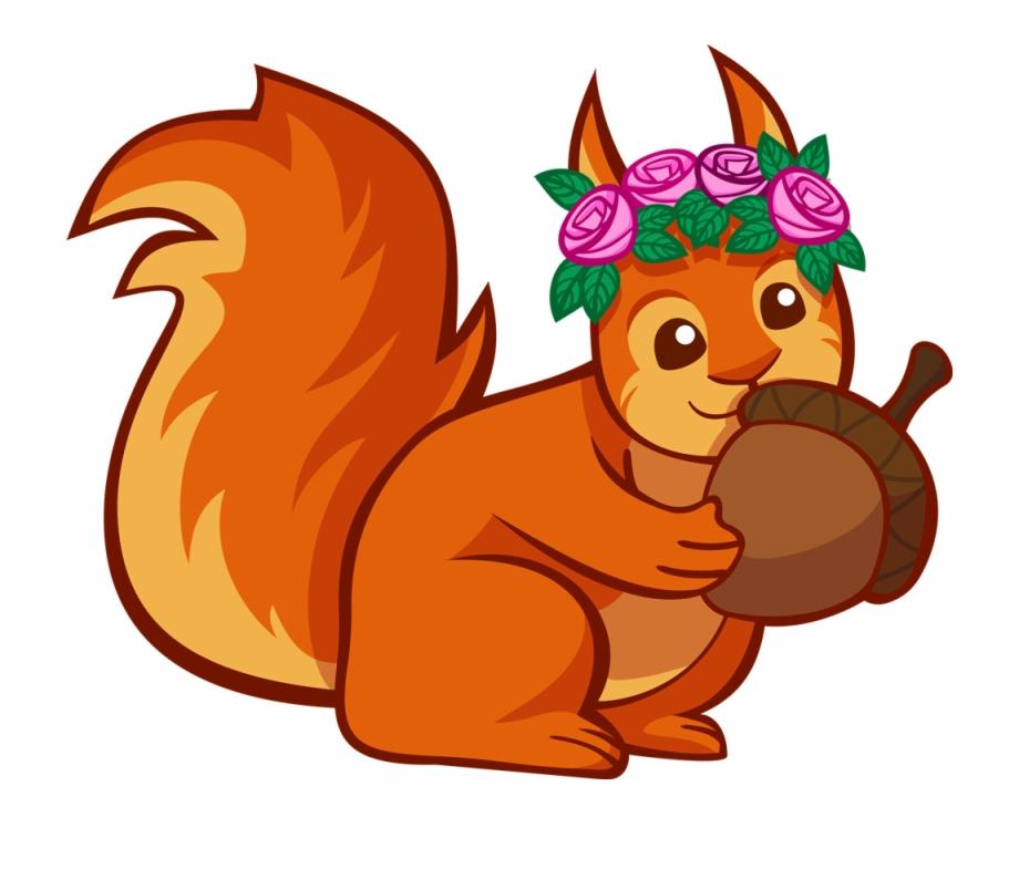 Squirrel Clip Art.