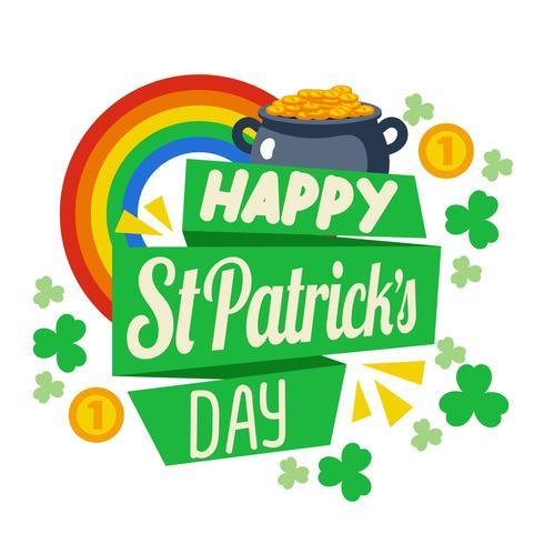 Happy St Patrick Day Background.