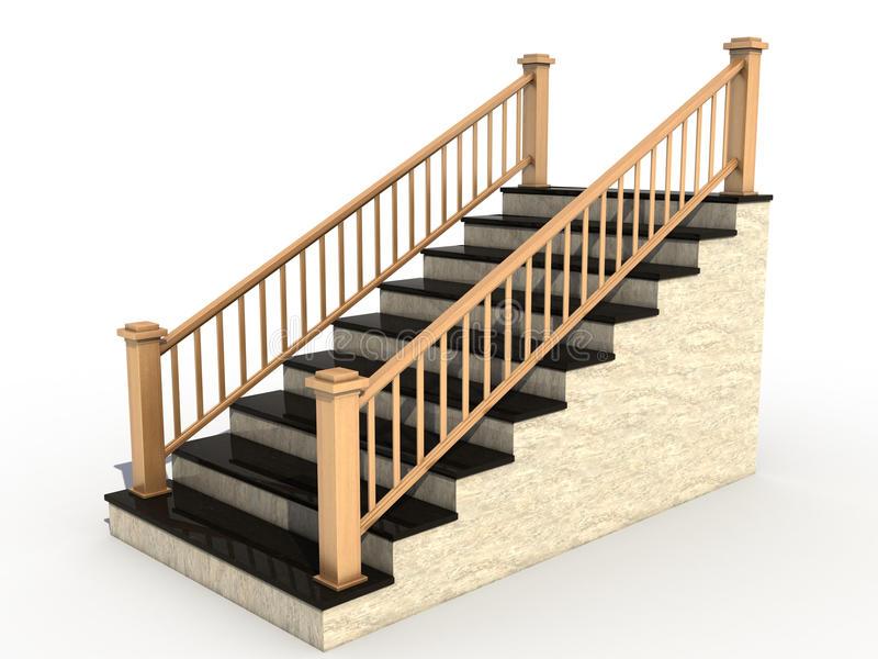Stairs Clipart stair rail 18.