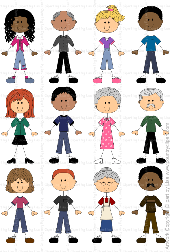 stick figure people graphics and clipart samples 10.