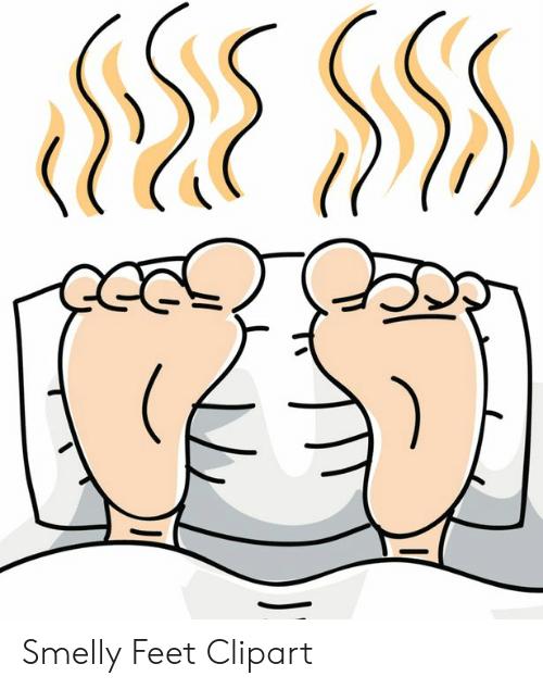 Smelly Feet Clipart.