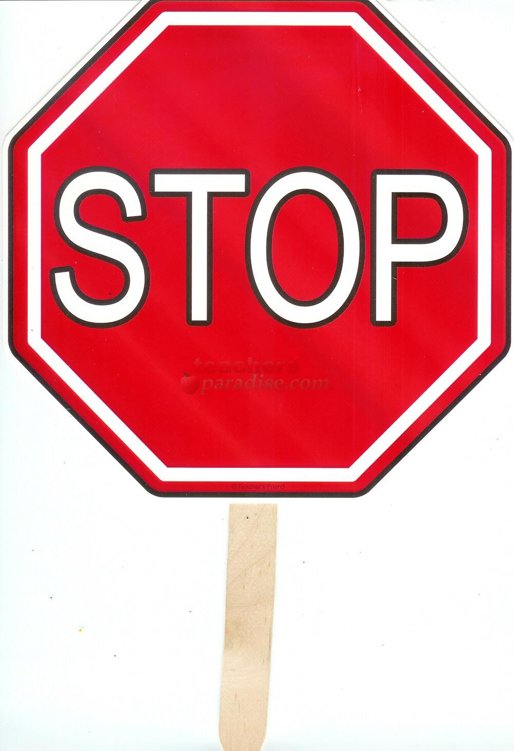 Awesome Stop Sign Clip Art Free Star Clipart.