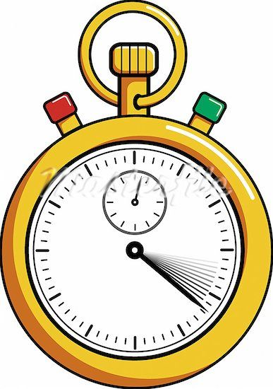 Stopwatch Cartoon Clip Art.