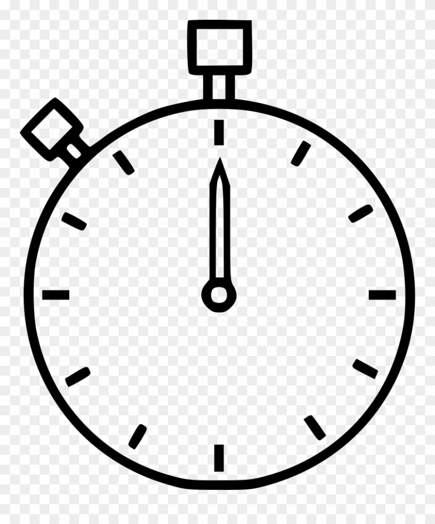Timer Time Countdown Stopwatch Clipart (#2378631).