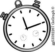 Stopwatch Clip Art.
