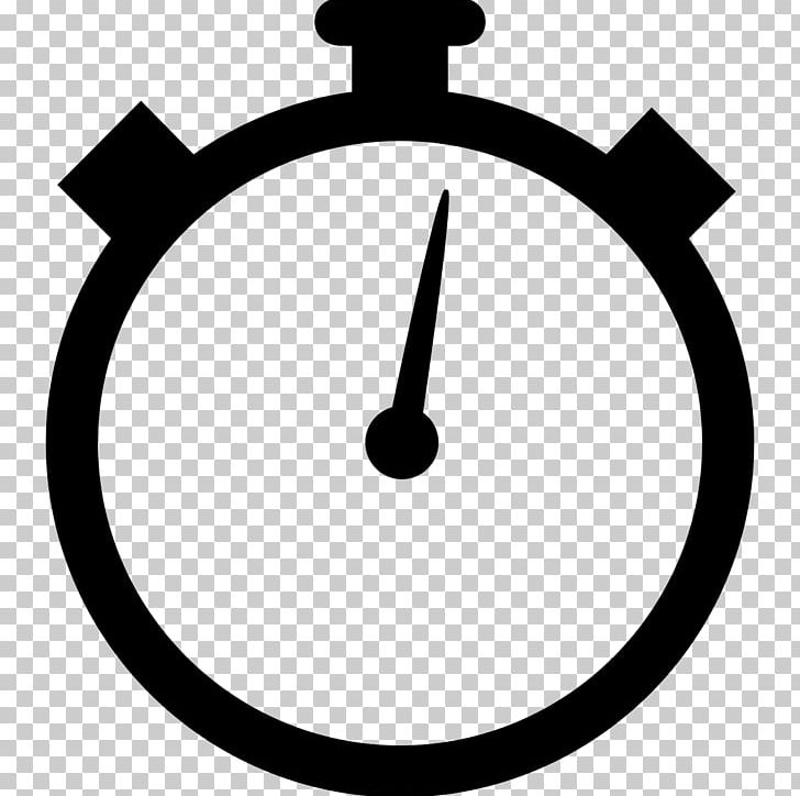 Timer Clock Stopwatch PNG, Clipart, Black And White, Circle, Clip.