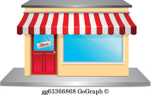 Storefront Clip Art.