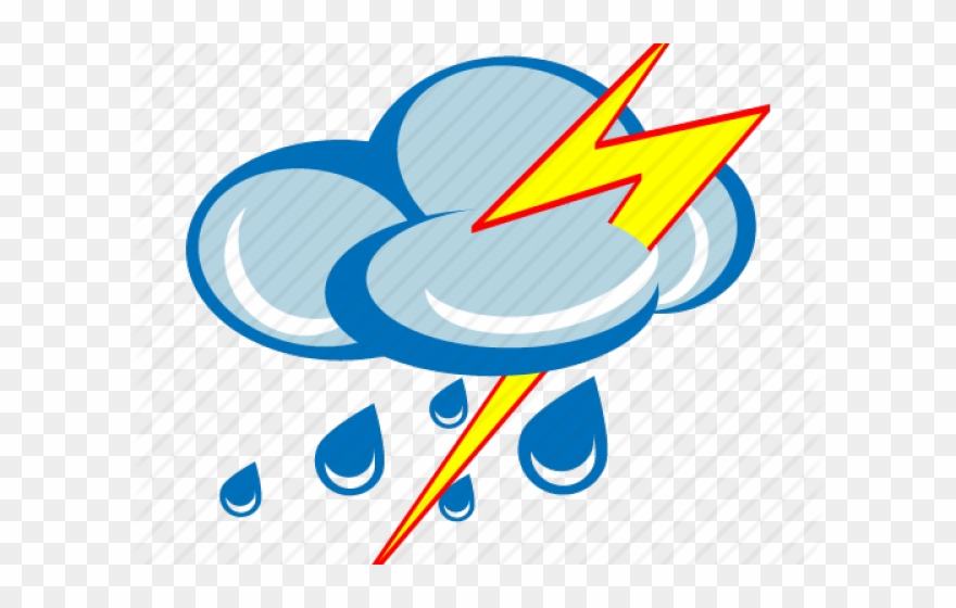 Thunder Clipart Storm Cloud.