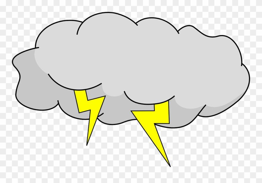 Thunderstorm Clipart Storm Cloud Clipart 3995448 Shop.