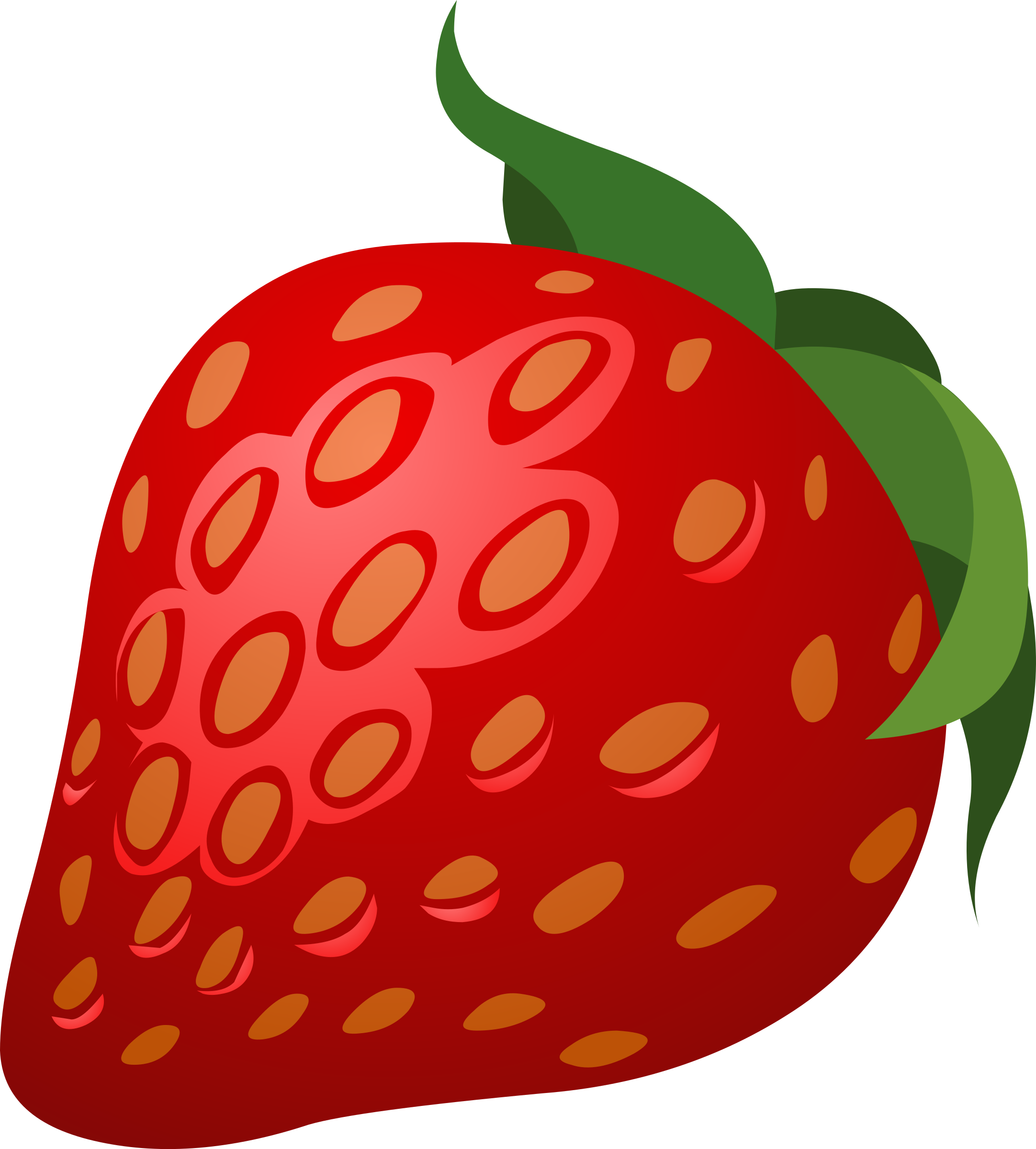 Clipart food strawberry.