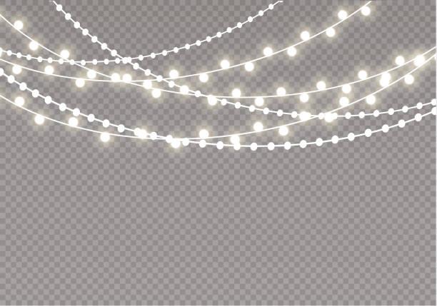Best String Lights Vector Illustrations, Royalty.