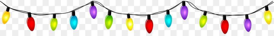 Christmas lights Incandescent light bulb Clip art.