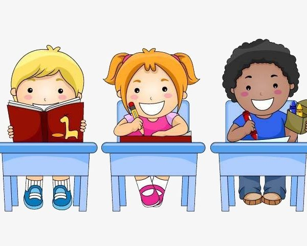 Elementary students clipart 2 » Clipart Station.