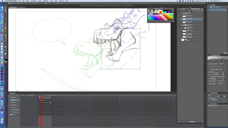 Clip Studio Paint: Animation Basics.