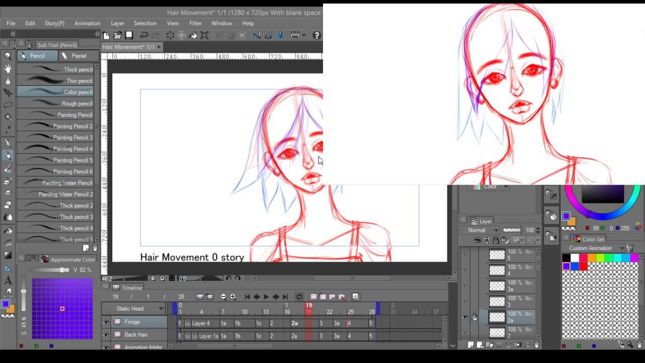 Clip Studio Paint Animation Livestream.