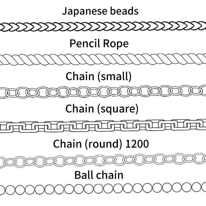 Chain Brushes.
