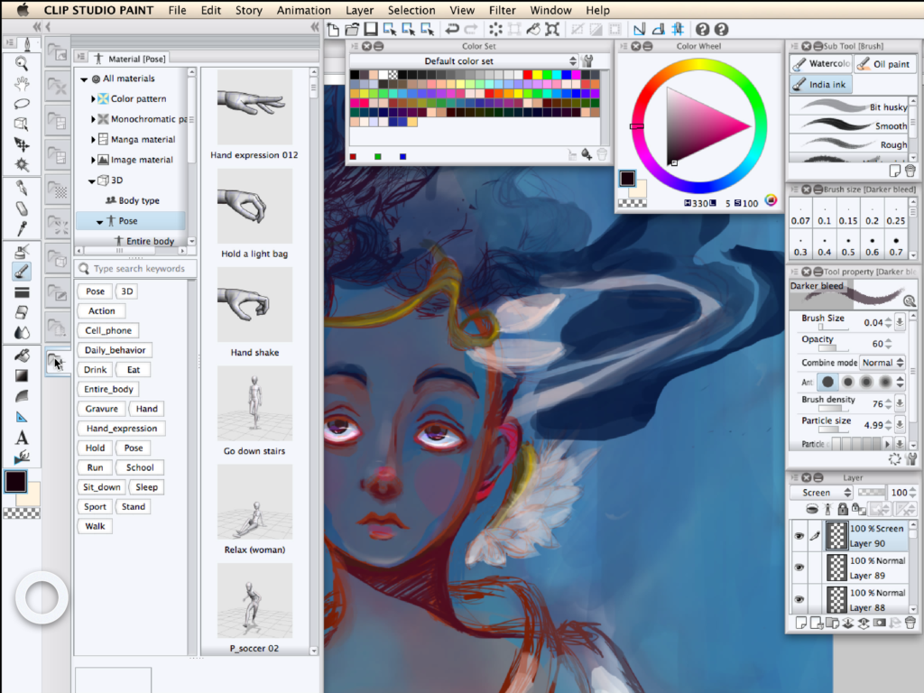 How to Organize a Clip Studio Paint Workspace for Astropad.