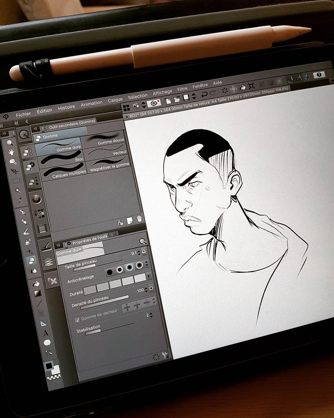 ipadpro #clipstudiopaint #manga #artistsoninstagram #mangaka.