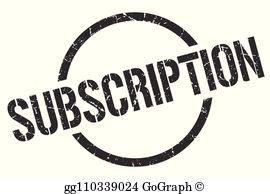 Subscription Clip Art.