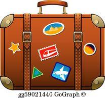 Suitcase Clip Art.