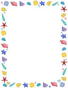 Free Summer Borders Cliparts, Download Free Clip Art, Free Clip Art.