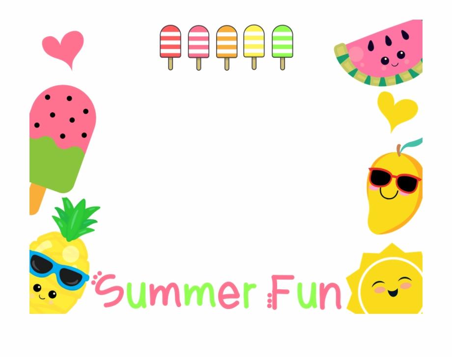 No Logo Transparent Summer Fun Fruit Manycam Borders.