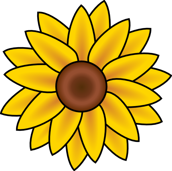 Free Printable Sunflower Stencils.
