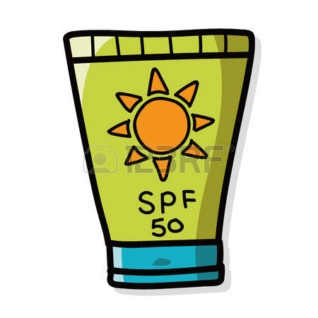 Sunscreen clipart 2 » Clipart Station.