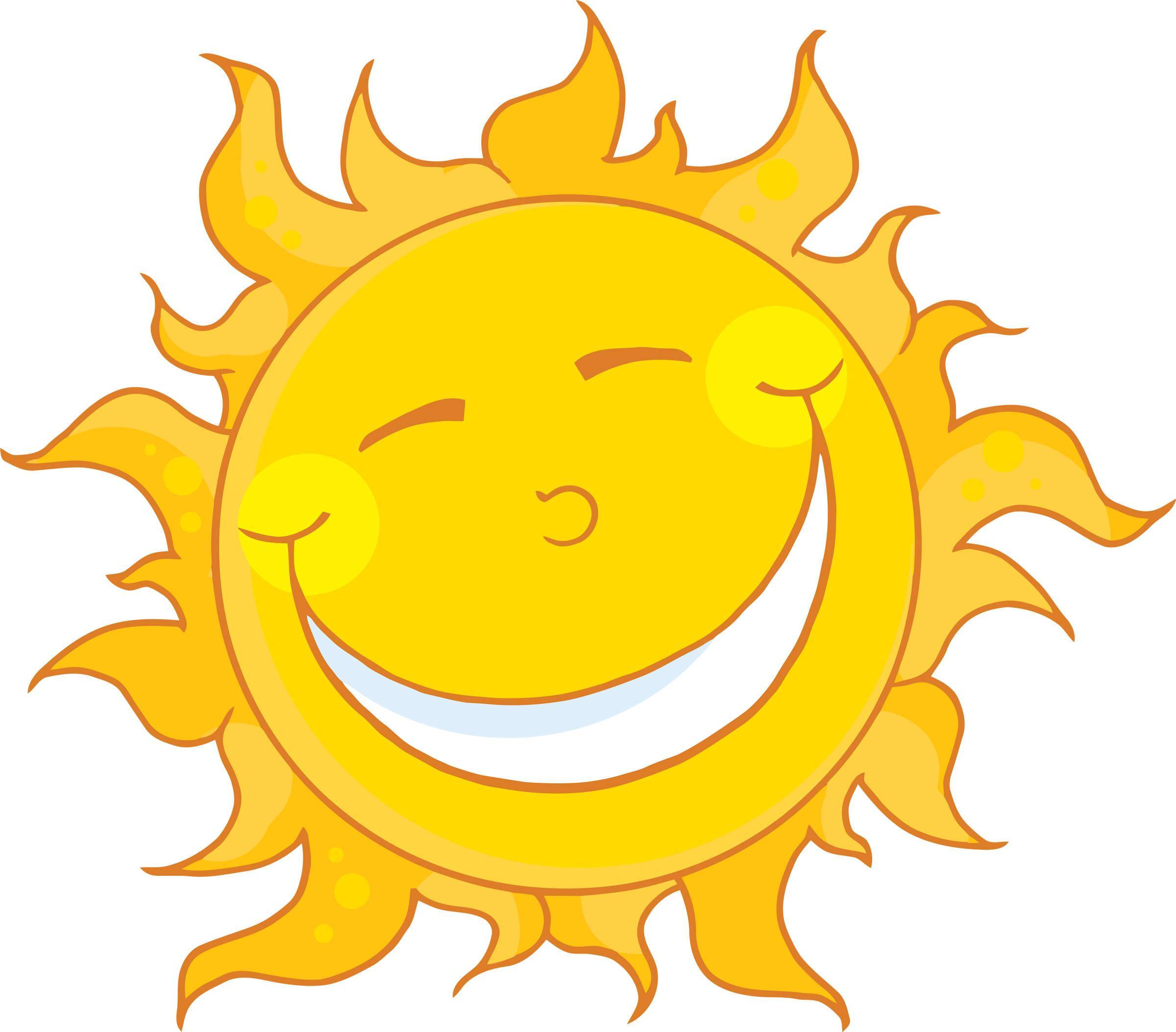 Sunshine Happy Sun Clipart.