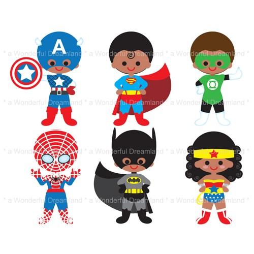 Superheroes Clip Art & Look At Clip Art Images.