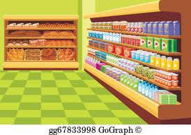 Supermarket Clip Art.