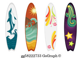 Surfboard Clip Art.