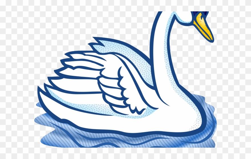 Swan Clipart Trumpeter Swan.