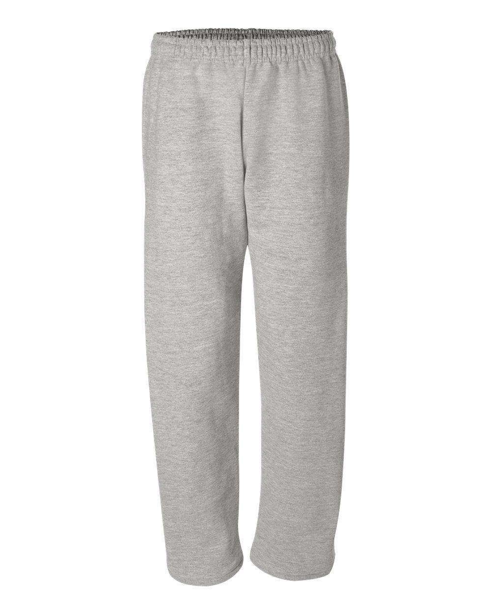 Gildan Open Bottom Sweatpants with Pockets.