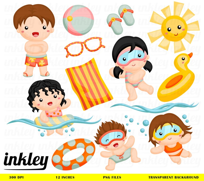 Swim Clipart, Swim Clip Art, Swim Png, Summer Clipart, Dive Clipart, Sun  Clipart, Swimming Clipart, Fun in the Sun, Sunshine Clipart.