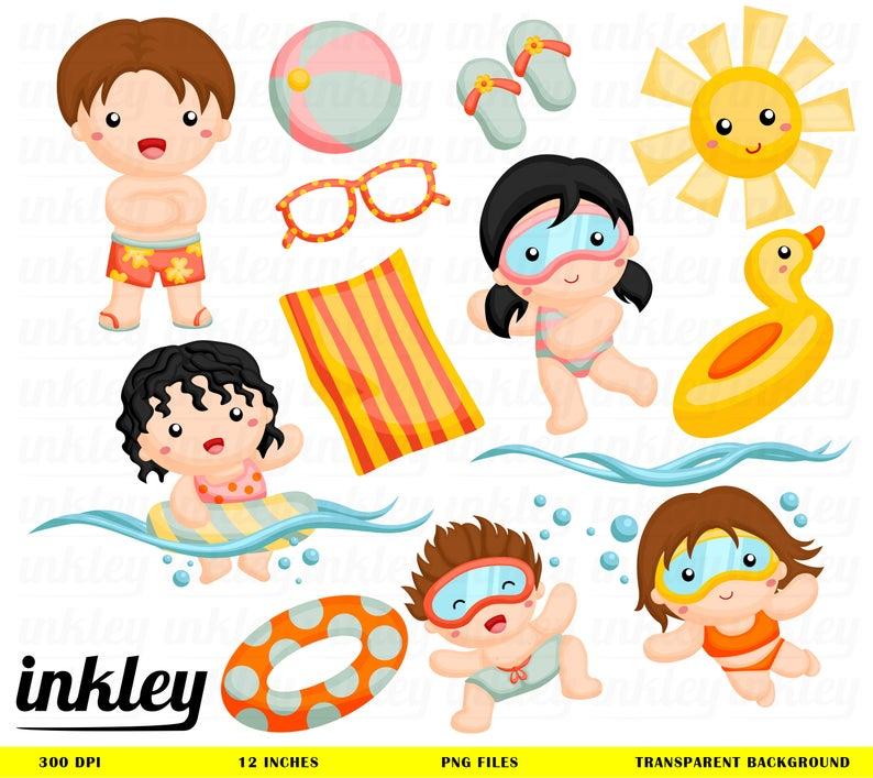 Swim Clipart, Swim Clip Art, Swim Png, Summer Clipart, Dive Clipart, Sun  Clipart, Swimming Clipart, Fun in the Sun, Sunshine Clipart.