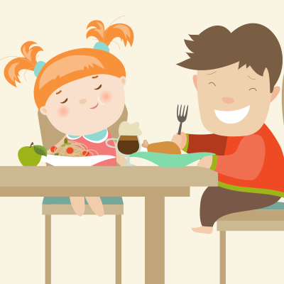 Table Manners Checklist: Use this list to teach your kids good table.