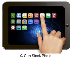 Tablet Stock Illustrations. 217,320 Tablet clip art images and.