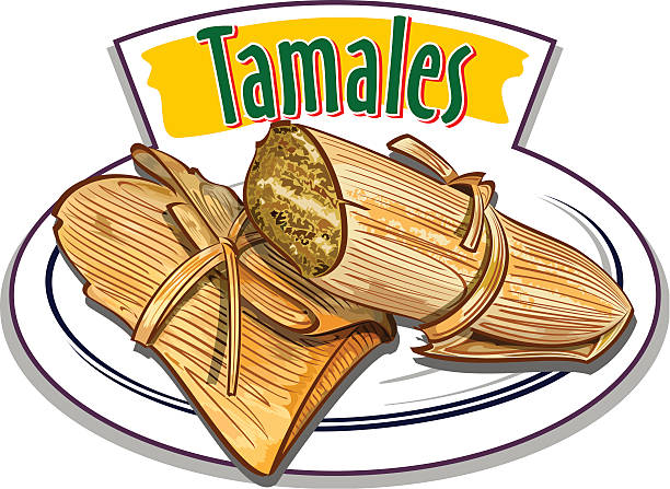 Best Tamale Food Illustrations, Royalty.