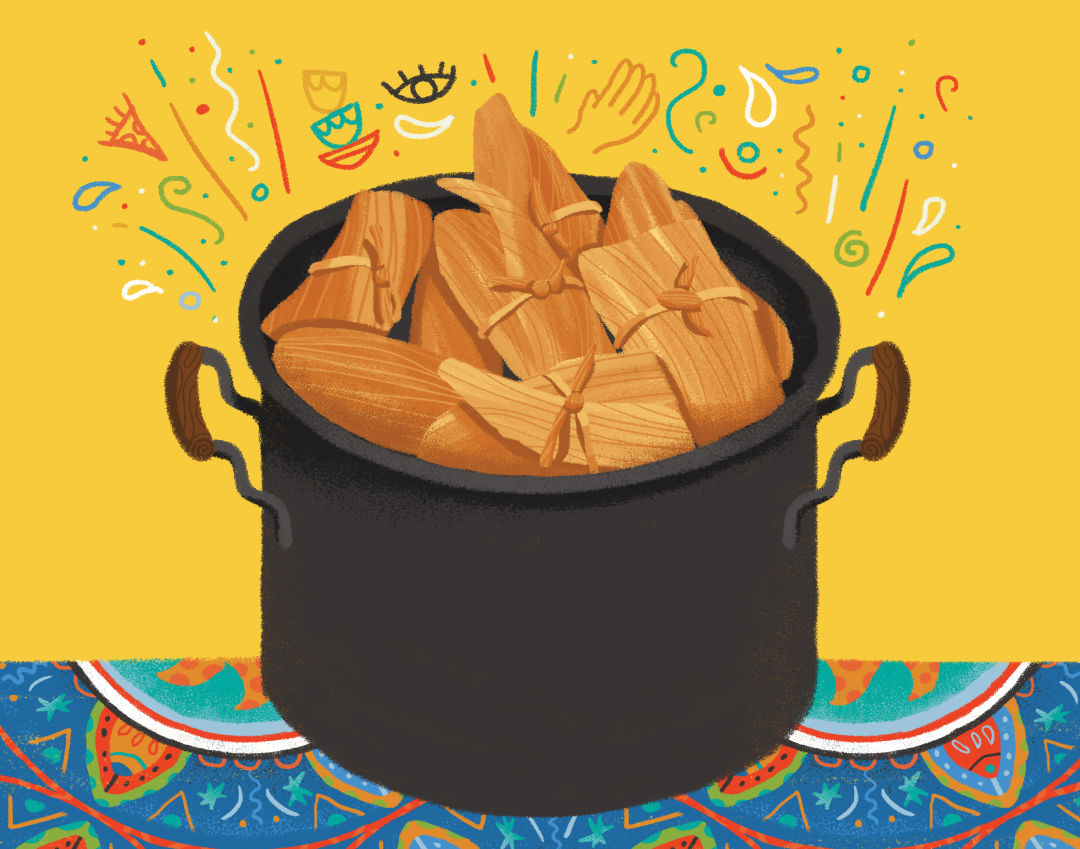 How to Throw a Fun, Productive Tamale Party for the Holidays.