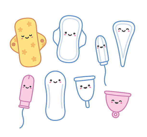 Best Tampon Illustrations, Royalty.
