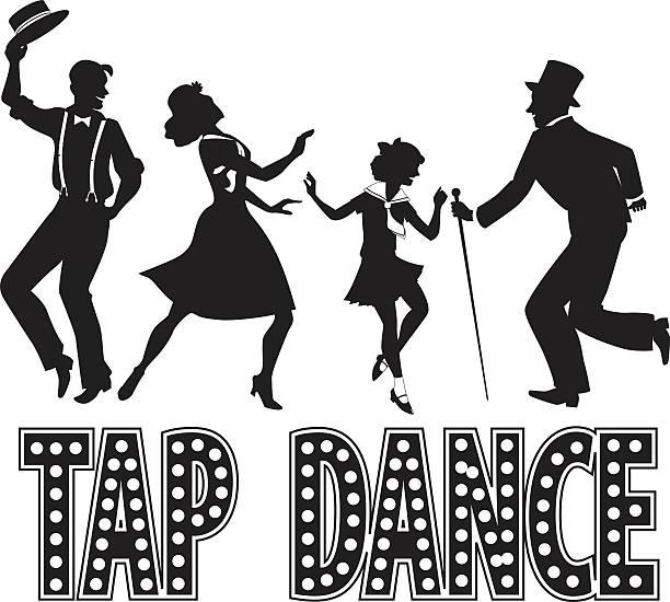 Best Tap Dancer Illustrations, Royalty.
