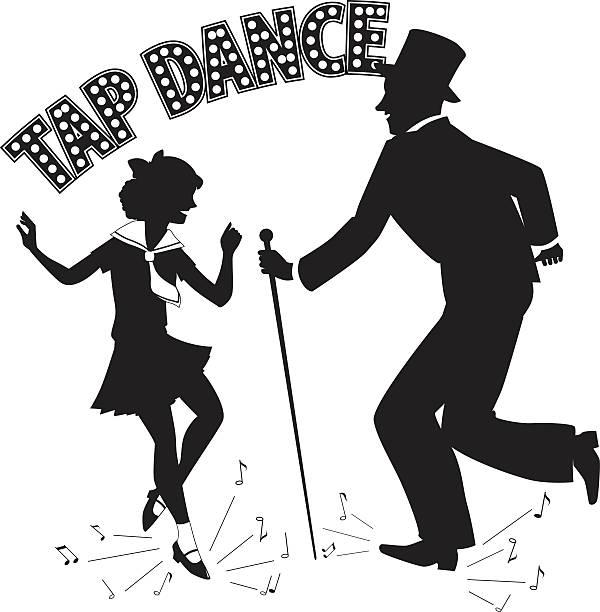Best Tap Dance Illustrations, Royalty.