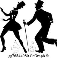 Tap Dancing Clip Art.