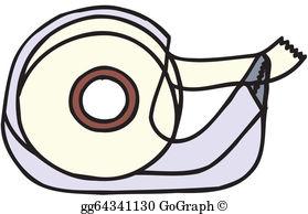 Adhesive Tape Clip Art.