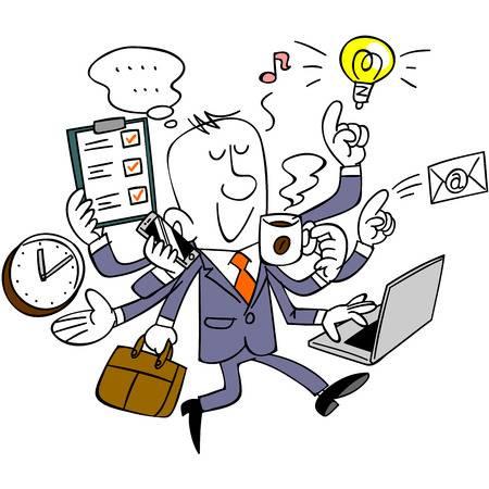 367 Multi Task Stock Vector Illustration And Royalty Free Multi Task.