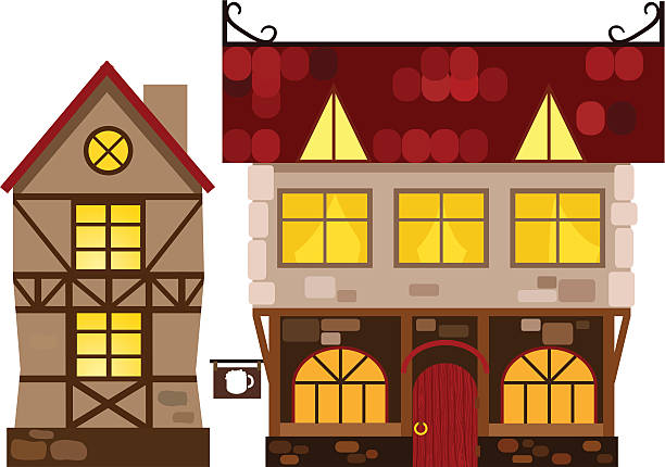 Best Medieval Tavern Illustrations, Royalty.